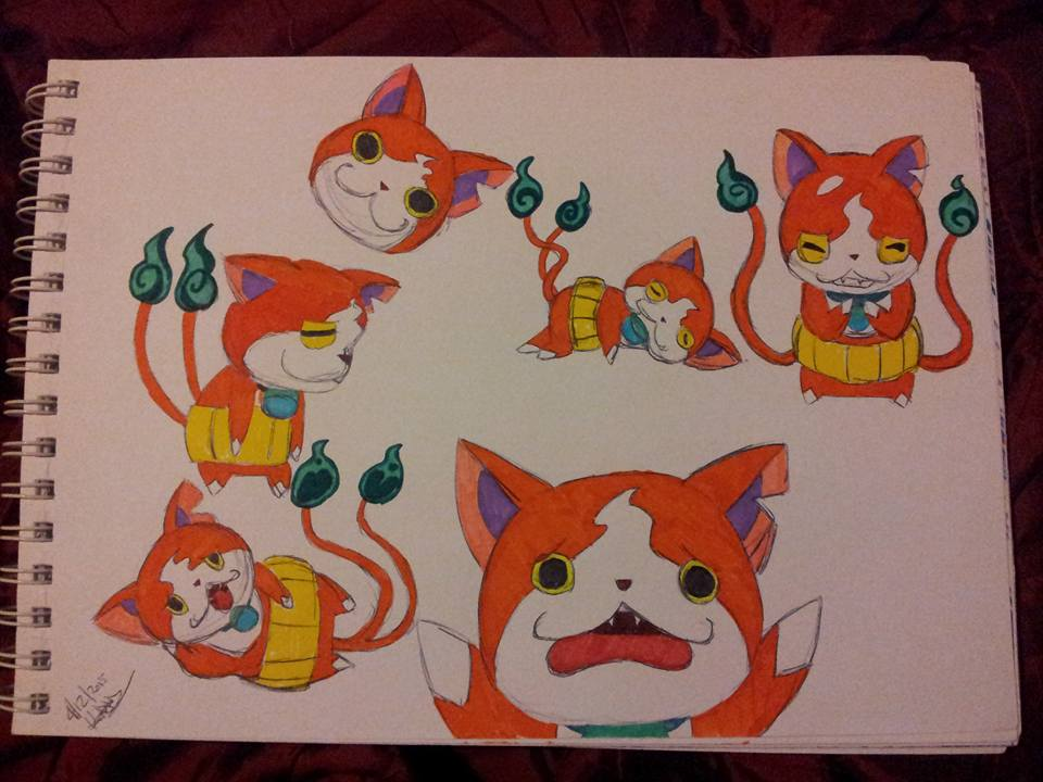 Jibanyan by Dragon-princess08