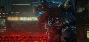 Kaiju Titanus NightProwl Render