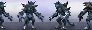 Kaiju Titanus Turntable All Render