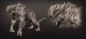 Hell Beast Sculpt