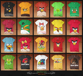 Angry Birds Tshirt A