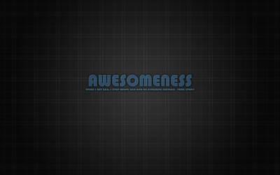 Awesomeness Glass by Taichou-Henk