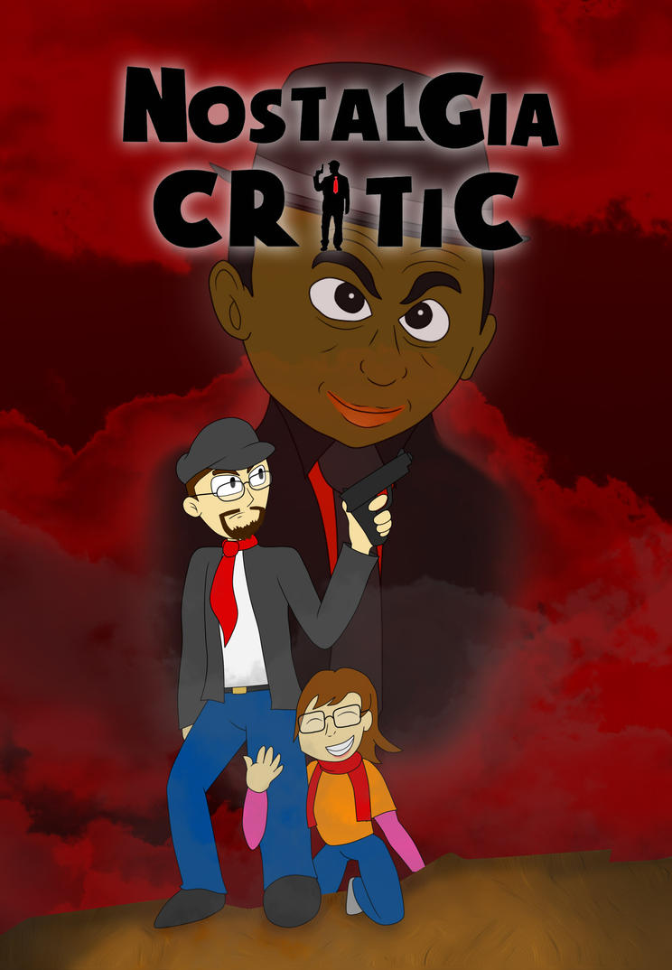 Nostalgia Critic DVD Cover (CONTEST SUBMISSION) by mikeinthehouse