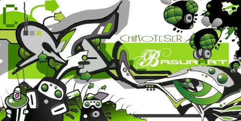 'BASURART'ChiKo+TeSeR-O5 by Chiko190