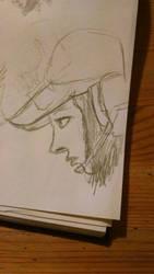 Ela-sketch by valkyagan