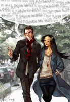 Sherlock and Joan by Megano2525