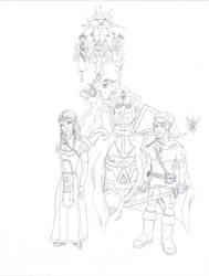 Bearers of the Triforce by ROSchwoe