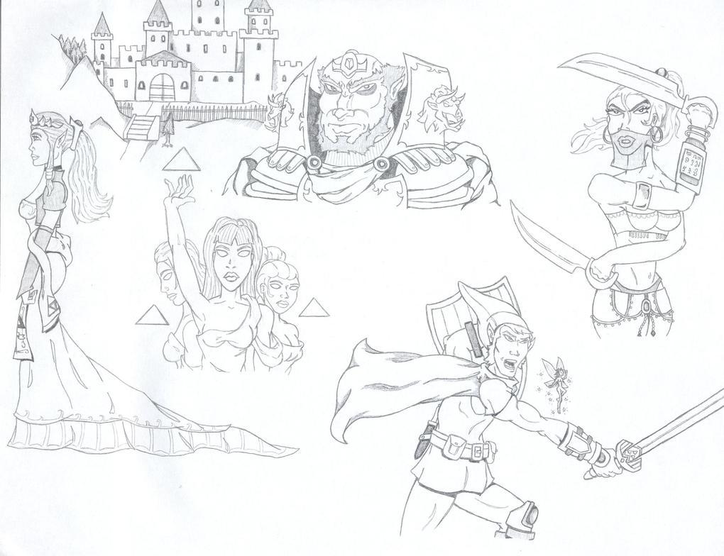 Legendary Tales of Hyrule by ROSchwoe