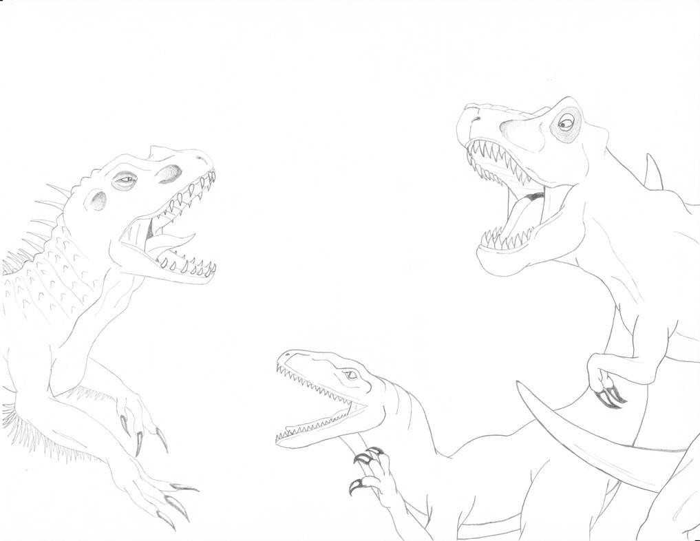 Jurassic World by ROSchwoe