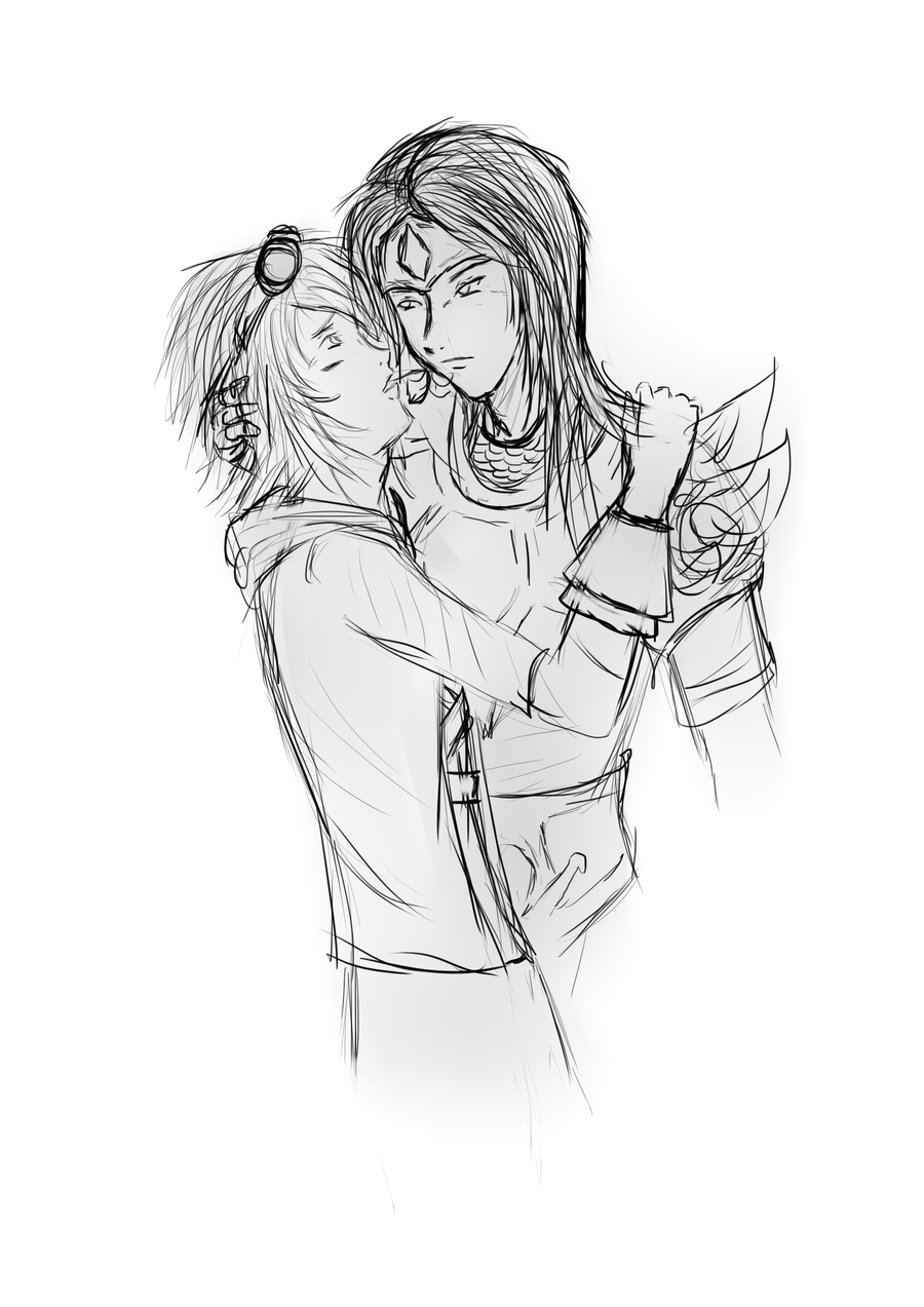 Taric and Ezreal by Dianthuss on deviantART