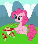 Pinkie Pie and her cuppa