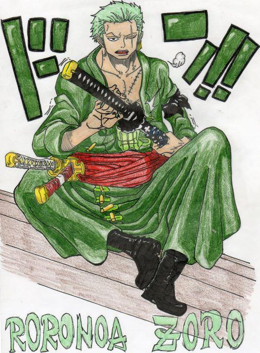 Roronoa Zoro After 2 Years - From One Piece by ...