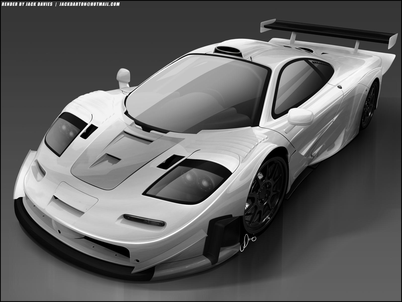 Mclaren F1 GTR Longtail by jackdarton