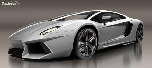 Lamborghini Aventador by jackdarton