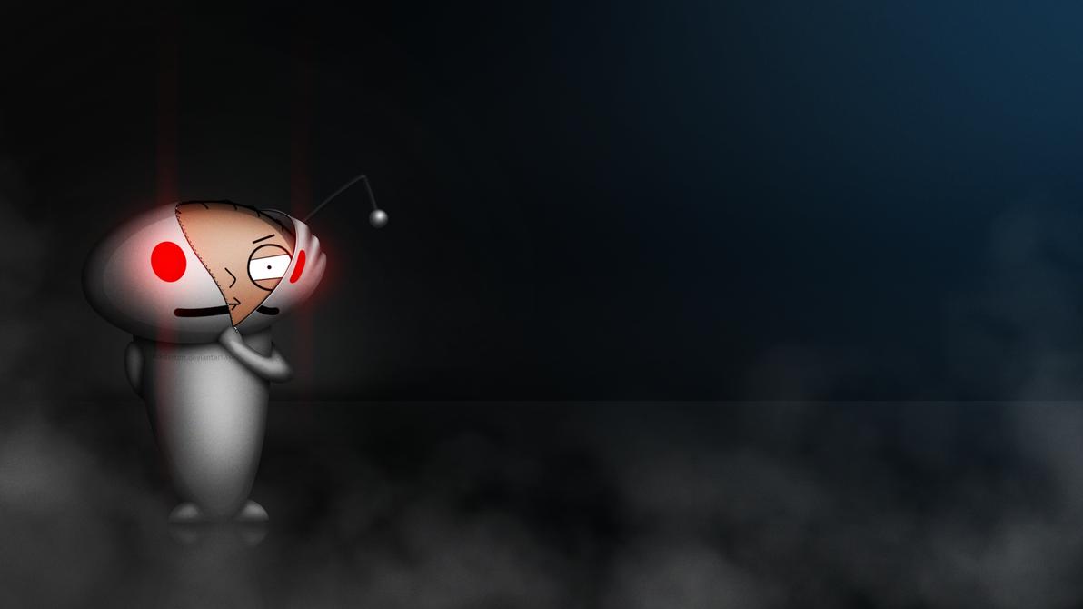 Reddit Alien vs Stewie Griffin by jackdarton