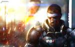 Mass Effect painting