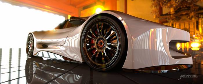 Concept car Beauty shot by jackdarton