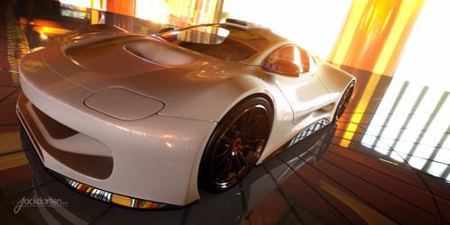 Concept car beauty shot #2 by jackdarton