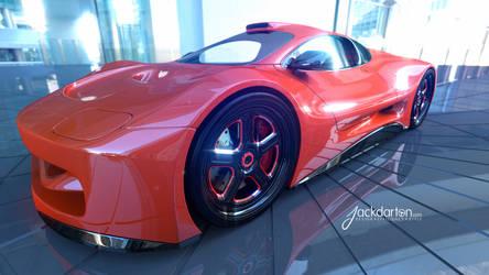 Concept car Beauty shot #3 by jackdarton