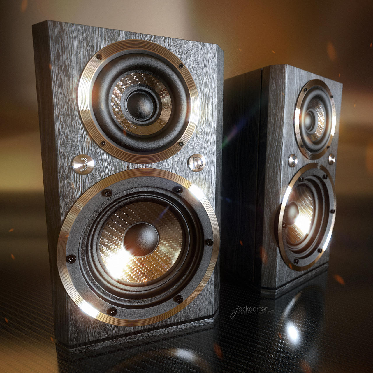 Custom Speakers By Jackdarton On Deviantart