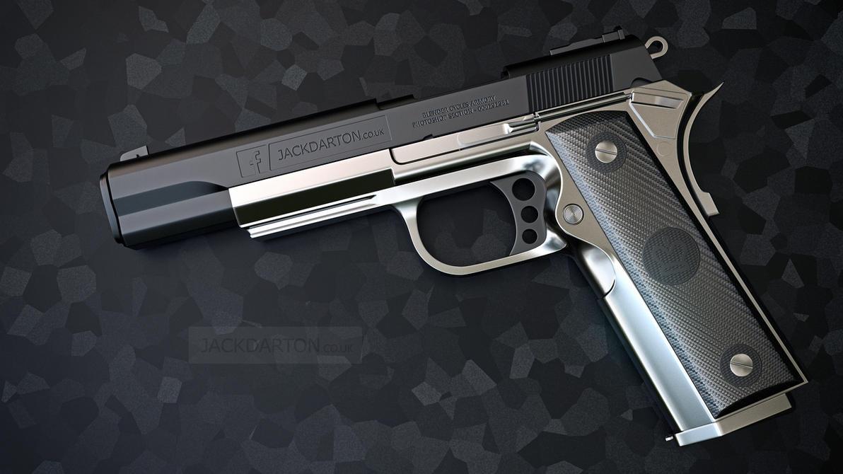 Pistol 1 by jackdarton
