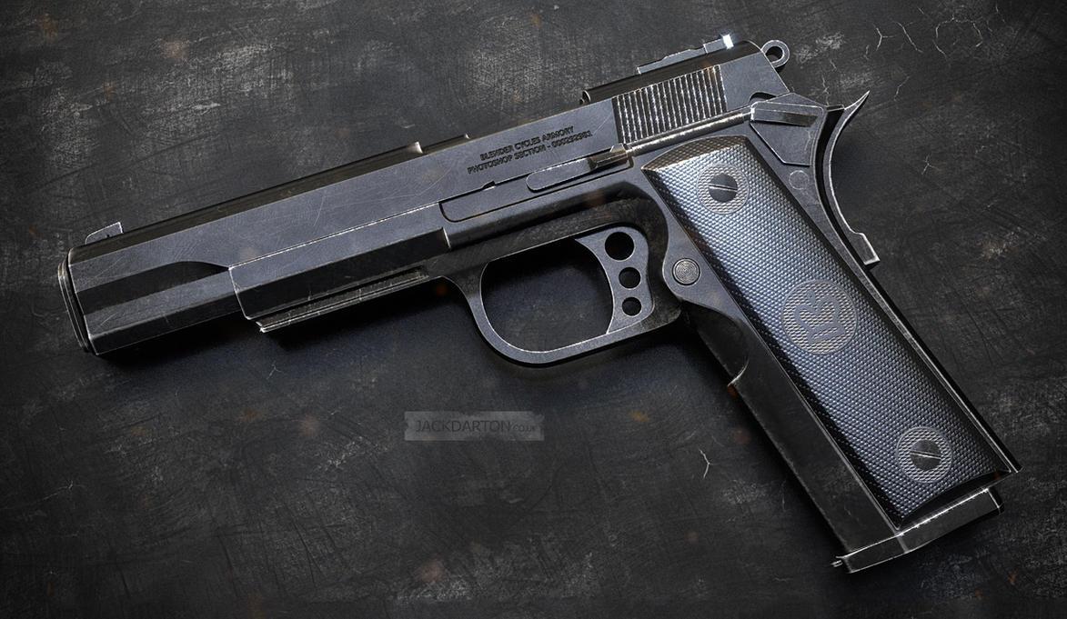 Pistol 3 by jackdarton