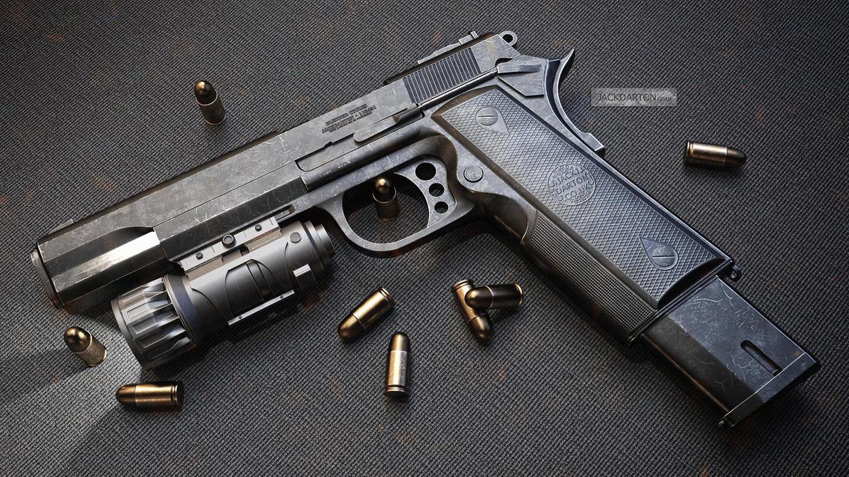Pistol Final by jackdarton