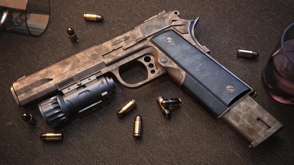 Pistol Final Desert by jackdarton