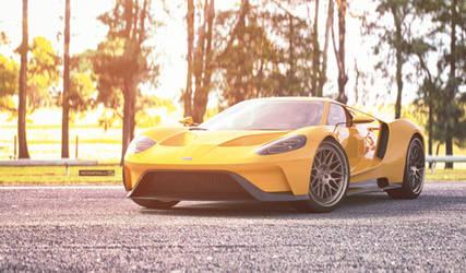 Ford GT by jackdarton