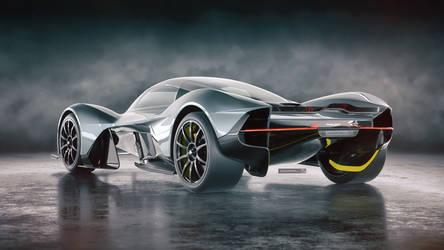 Aston Martin Valkyrie by jackdarton