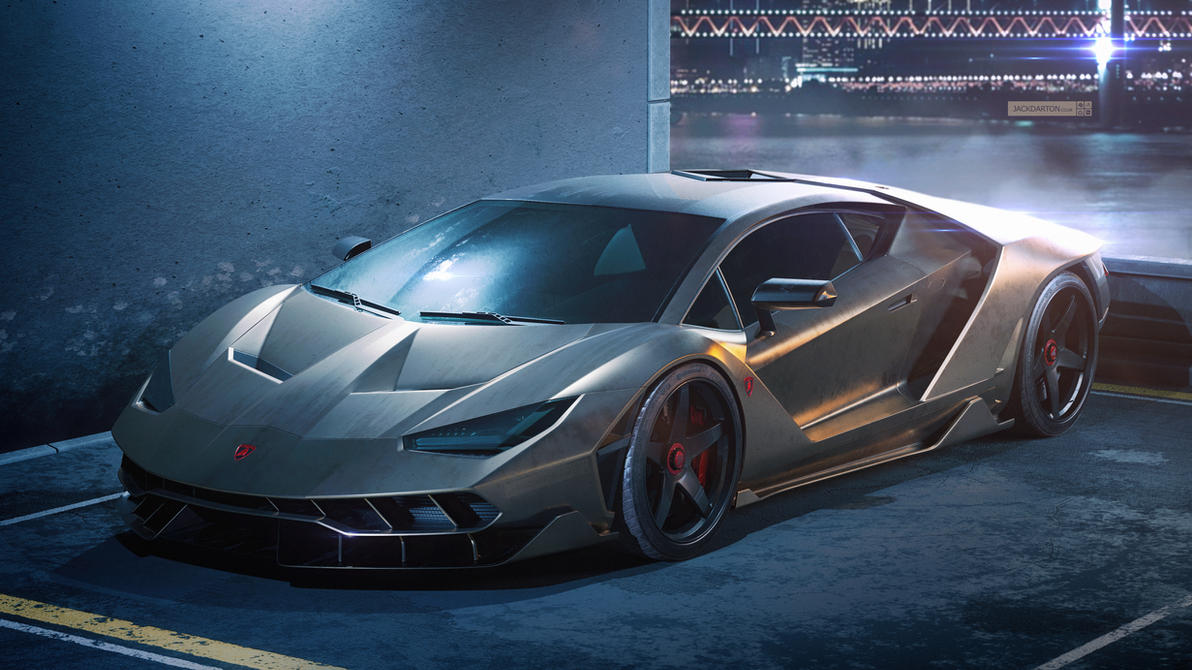 Lamborghini Centenario by jackdarton