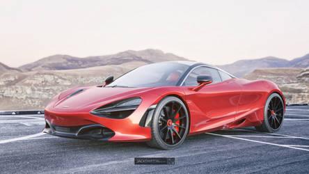McLaren 720S Front by jackdarton