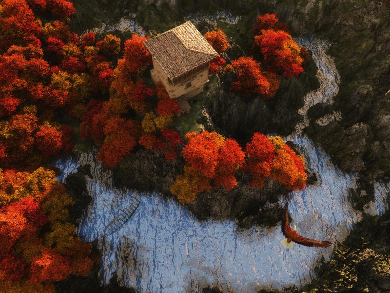 Autumn by biancomanto