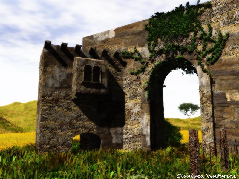 The Moorish Wall by biancomanto