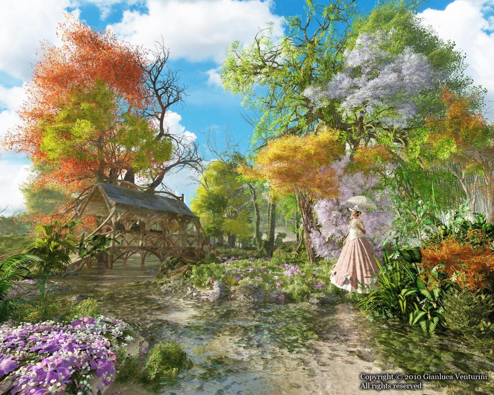 Victorian Serenity by biancomanto