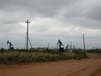 Natural Gas Plant in nowhere NM by ljljljs
