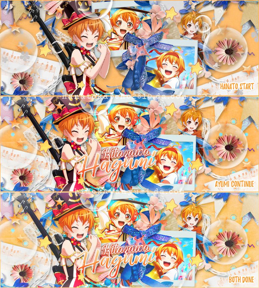// Pack Bandori Collab by Hanatokabeno2810