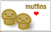 Muffins Stamp by LisaJennifer