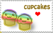 Cupcakes Stamp by LisaJennifer