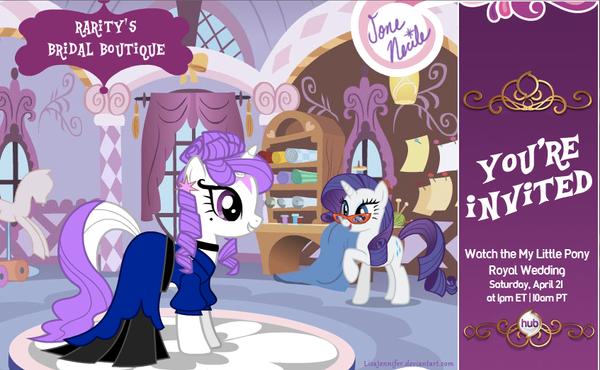 Rarity's Bridal Boutique with Jone Necile by LisaJennifer