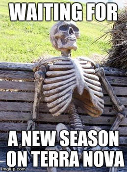 Waiting for the 2nd Season of Terra Nova
