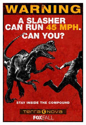 Terra Nova Poster 1: Stay Inside the Coumpound