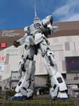 Unicorn Gundam Statue by TuxedoToad