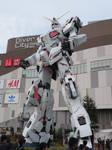 Unicorn Gundam Statue (Transformed) by TuxedoToad