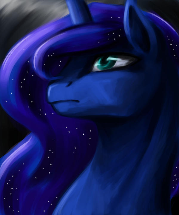 The Face of the Night by Valkyrie-Girl