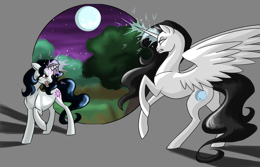 Vs. The Everfree Witch by Valkyrie-Girl