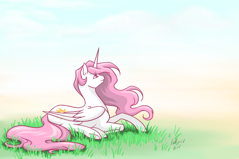 Warmed By The Sun by Valkyrie-Girl