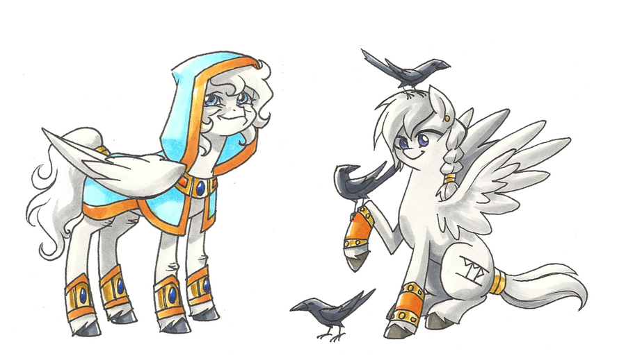 The Sage and the Bird Keeper by Valkyrie-Girl