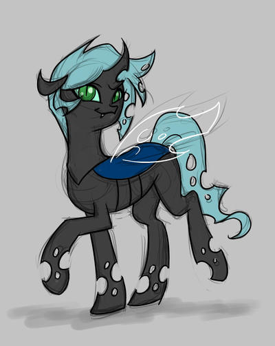 Snazzy Changeling by Valkyrie-Girl