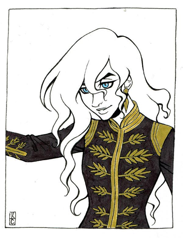 Queen Freya Greymantle by Valkyrie-Girl